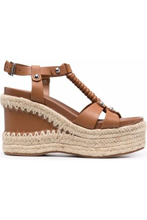 Ash Mujer Wedges - Wedge-heel leather sandals