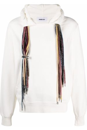 AMBUSH Hombre Con capucha - MULTICORD HOODIE SWEATSHIRT OFF WHITE WH