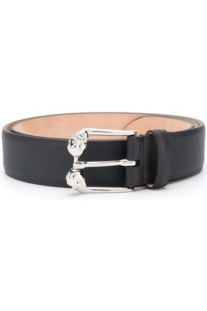Alexander McQueen Cinturón con hebilla de calavera