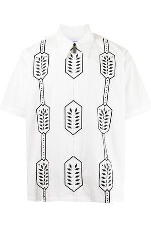 Ports V Camisa con estampado geométrico