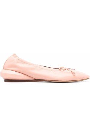 Lanvin Bow-detail ballerina shoes