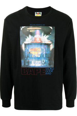 A BATHING APE® Hombre Sudaderas - World Gone Mad sweatshirt