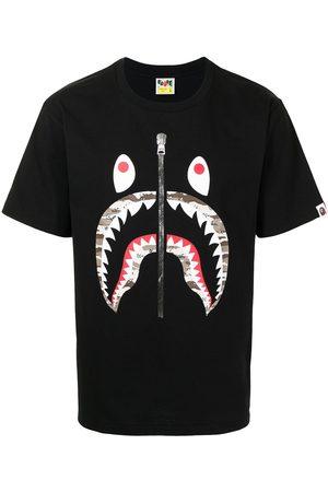 A Bathing Ape Contrasting-print T-shirt