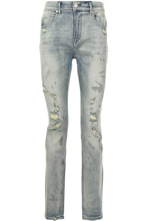 STAMPD Jeans slim con detalles rasgados