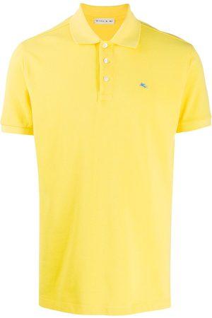 Etro Hombre Polos - Playera tipo polo con logo bordado