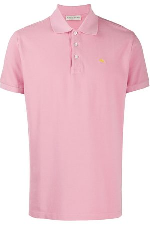 Etro Playera tipo polo con logo bordado