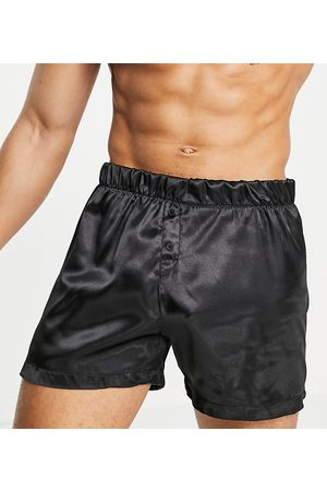 New Look Satin boxer in black