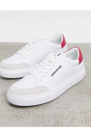 Calvin Klein Lace up sneaker in white