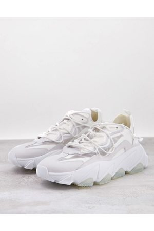 Ash Extra chunky panelled trainers in white