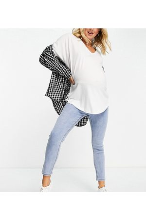 Cotton On Underbump cropped skinny jean in light wash