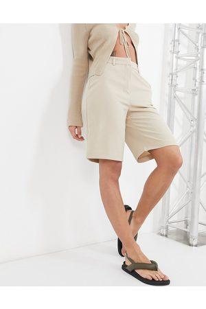 VILA Tailored city shorts co