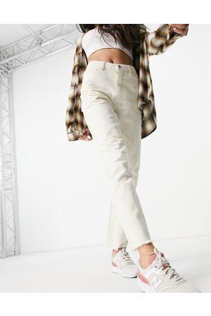 VILA Straight leg jean in ecru