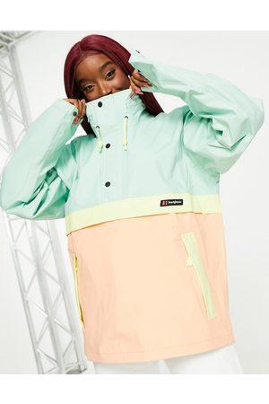 Berghaus Smock 86 jacket in pink/blue