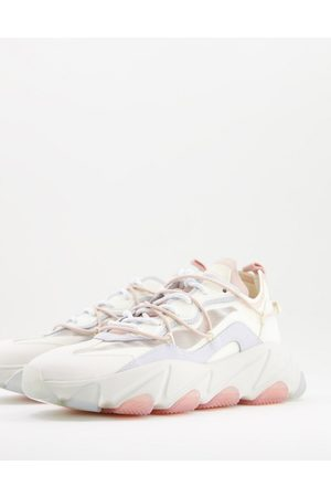 Ash Extra chunky panelled trainers in pastel multi