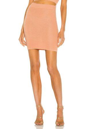 Michael Costello Mujer Minifaldas - Minifalda ambrose en color talla L en - Blush. Talla L (también en XXS, XS, S, M, XL).