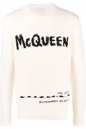 Alexander McQueen Hombre Suéteres - Suéter Graffiti