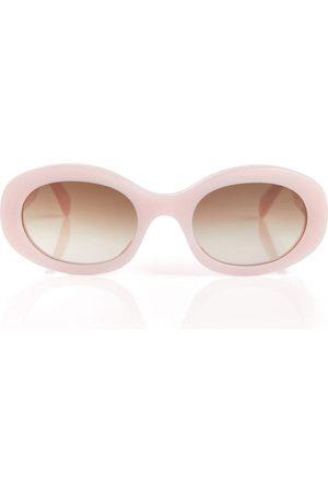 Céline Oval acetate sunglasses