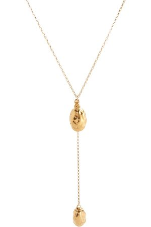 Alighieri Mujer Collares - Luna Rocks 24kt gold-plated bronze necklace