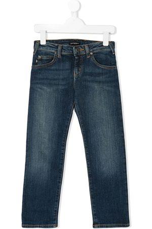 Emporio Armani Niño Jeans - Jeans de corte recto
