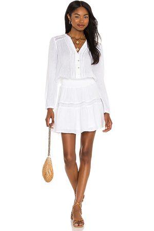 Rails Vestido jasmine en color blanco talla L en - White. Talla L (también en XS, S, M).