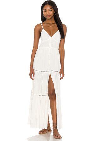 L*Space Mujer Vestidos - Vestido sunrise escape en color talla L en - White. Talla L (también en S, XS, M).