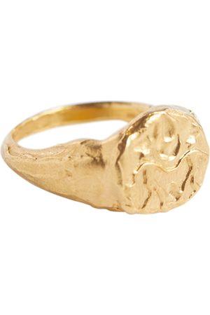 Alighieri Mujer Anillos - Gemini 24kt gold-plated signet ring