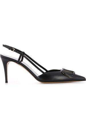 VALENTINO GARAVANI Mujer Stiletto - Zapatillas VLOGO con tacón de 80mm
