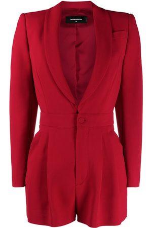 Dsquared2 Mujer Largos - Jumpsuit corto estilo blazer