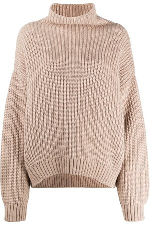 ANINE BING Mujer Suéteres - Suéter oversize con cuello alzado