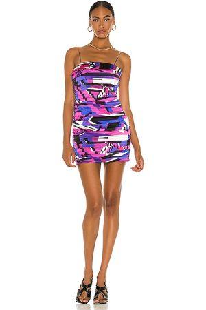 Retrofete Mujer Cortos - Minivestido elsie en color morado talla M en - Purple. Talla M (también en XS, S).