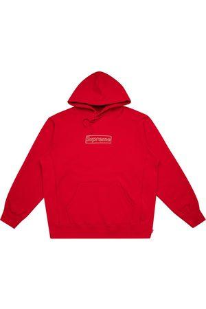 Supreme Hoodie con logo de x KAWS
