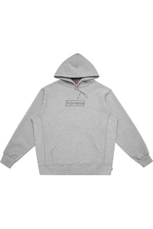 Supreme Hombre Con capucha - Hoodie con logo de x KAWS