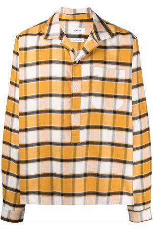 Rhude Hombre Camisas - Camisa con estampado de cuadros