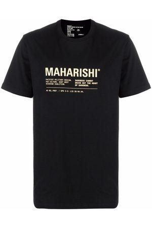 Maharishi Playera con logo estampado
