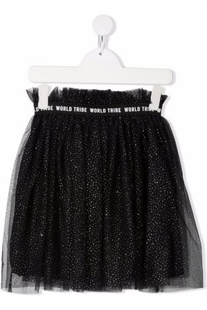 Le pandorine Niña Faldas - Metallic threading tulle skirt