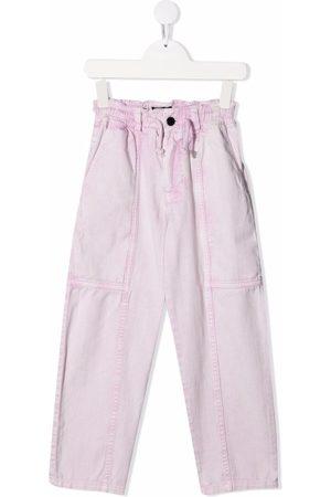 Le pandorine Niña Jeans - Vaqueros rectos con efecto lavado