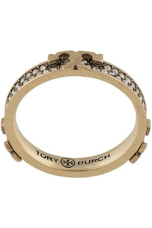 Tory Burch Mujer Anillos - Serif-T embellished ring