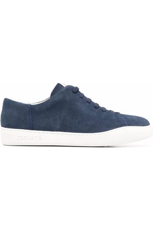 Camper Hombre Tenis - Lace-up low top suede sneakers