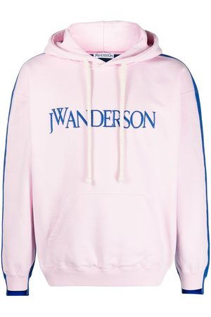 J.W.Anderson Con capucha - DECONSTRUCTED FLEECE BACK HOODIE