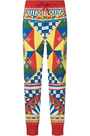 Dolce & Gabbana Mujer Pantalones y Leggings - Pants con estampado geométrico