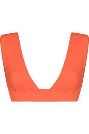 ALEXANDRA MIRO Ally V-neck bikini top