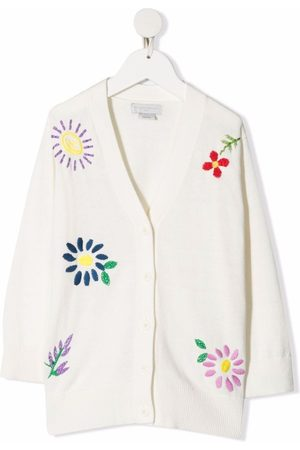 Stella McCartney Cárdigan con bordado floral
