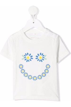 Stella McCartney Playeras - Camiseta con estampado floral
