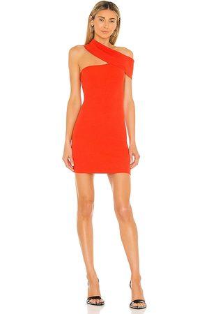 NBD Mujer Vestidos - Vestido ianna en color rojo ladrillo talla L en - Brick. Talla L (también en XS, S, M).