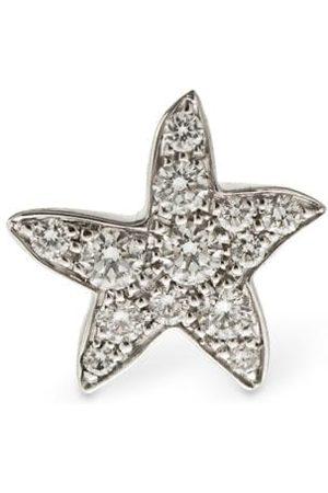 """Dodo Pendiente Individual """"stellina"""" De Oro Y Diamantes"""
