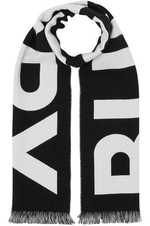 Burberry Mujer Bufandas - Bufanda De Punto De Lana Con Logo