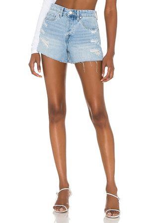 BLANK NYC Mujer De mezclilla - Shorts denim barrow en color denim claro talla 24 en - Denim-Light. Talla 24 (también en 26, 25, 27, 28, 29, 30, 31).