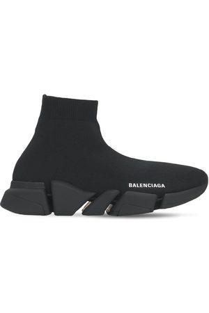 "Balenciaga Mujer Tenis - Sneakers ""speed 2.0 Lt"" De Punto 30mm"