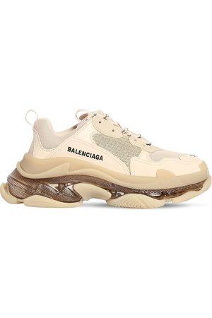 """BALENCIAGA Mujer Tenis - Sneakers """"triple S"""" De Malla 60mm"""