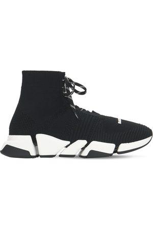 Balenciaga Hombre Tenis - Sneakers Speed 2.0 De Punto Con Cordones